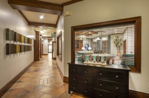 One Bedroom Apartments for Rent in Northwest Houston, TX - Clubhouse Interior Hallway
