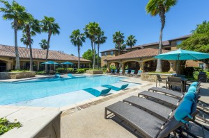 Three Bedroom Apartments for Rent in Northwest Houston, TX -Pool Area with Tanning Shelves