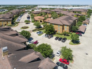 Three Bedroom Apartments for Rent in Northwest Houston, TX -Aerial View of Community